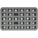 30mm (1.2 Inches) Half-size Foam Tray for Dropfleet Commander - Launch Assets