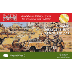 1/72nd German SdKfz 231 8 rad Armoured Car