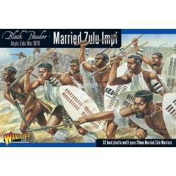 Anglo Zulu War Married Zulu Impi