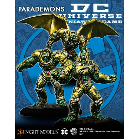 Parademon Invasion Force - Metal