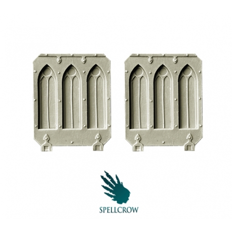 Gothic Doors for Light Vehicles