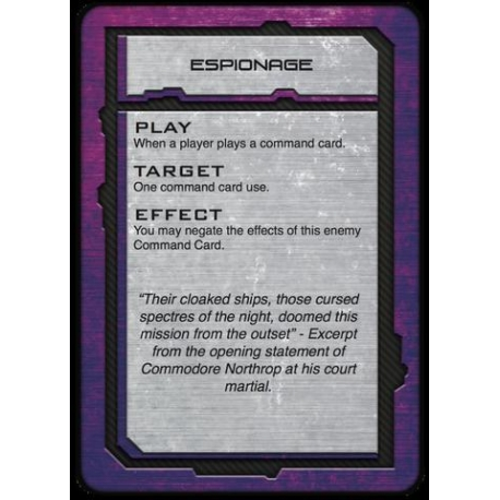 Scourge Command Cards