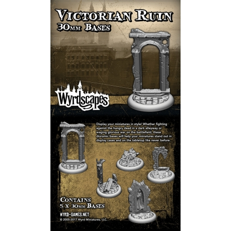 Victorian Ruin 30mm Bases