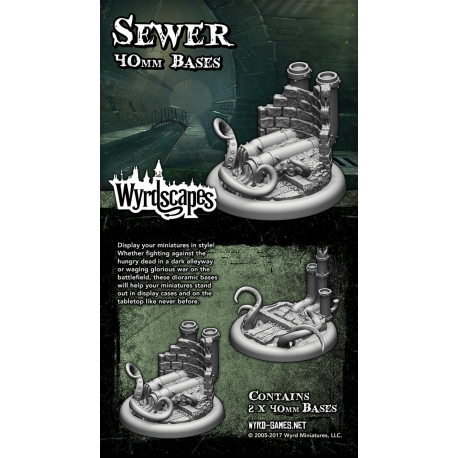 Sewer 40mm Bases