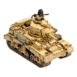 Desert Rats Honey Armoured Troop