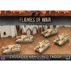 Desert Rats Crusader Armoured Troop