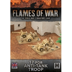 Desert Rats 17/25pdr Anti-Tank Troop