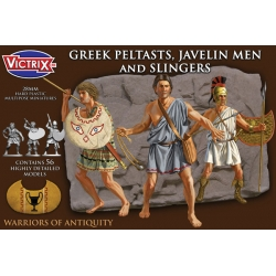 Greek Peltasts, Javelin Men and Slingers