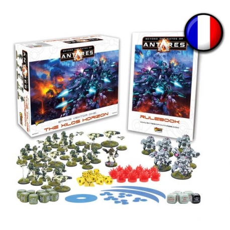 Beyond the Gates of Antares: The Xilos Horizon Starter Set - French