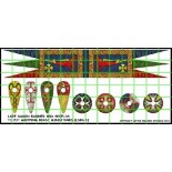 Saxon Banner and Shield Transfers