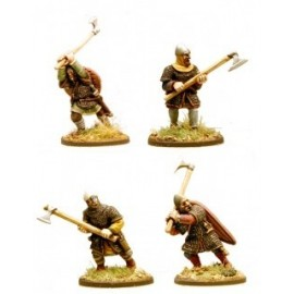 Anglo-Danish Huscarls with Axes