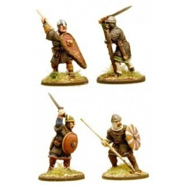 Anglo-Danish Huscarls with Spears