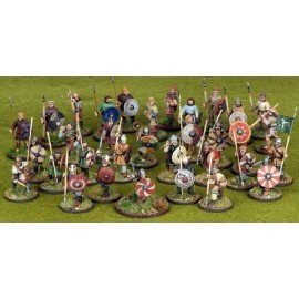 Anglo-Saxon 4-point Warband Starter