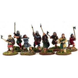 Norse Gael Warriors with Dane Axes