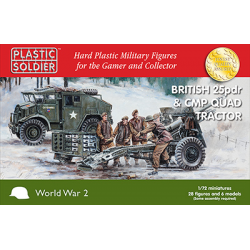 1/72nd British 25pdr and CMP Quad Tractor