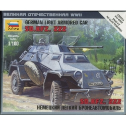 1/100th (15mm) German SdKfz 222 Armoured Car