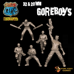 Goreboys on Foot