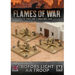 Desert Rats Bofors Light AA Troop