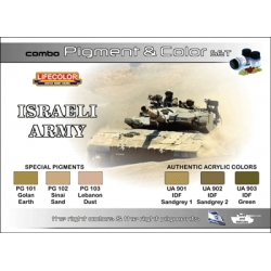 Combo Pigment & Colour Set: Israeli Army