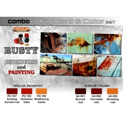 Combo Pigment & Colour Set: Rusty
