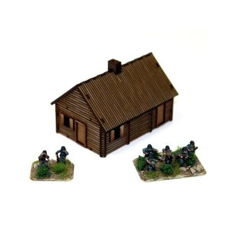 Pre-painted Log Timber House