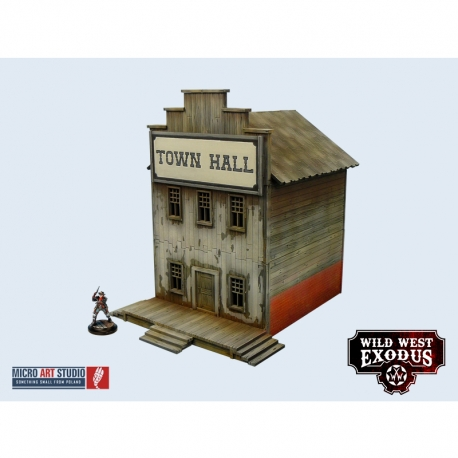 WWX Western Town Hall, General Store, Bank