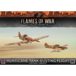 Desert Rats Hurricane Flight