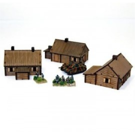 Pre-painted Log Timber Village