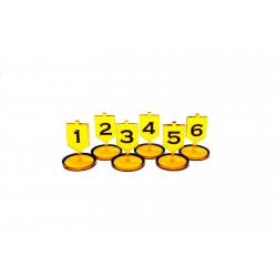 Objective Tokens Yellow