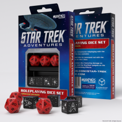 Star Trek Adventures - Command Red Custom Dice