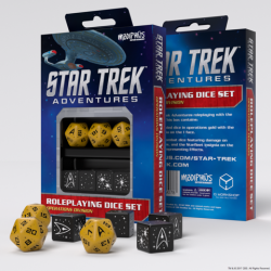 Star Trek Adventures - Operations Gold Custom Dice