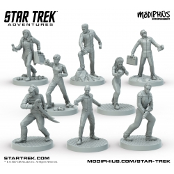 Star Trek Adventures - The Next Generation Bridge Crew