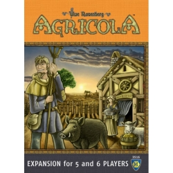 Agricola 5 - 6 Player Expansion