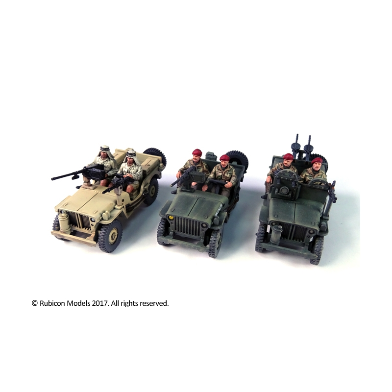 Willys Jeep Commonwealth Models Rubicon Wayland Games