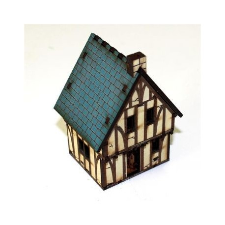 Pre-painted Timber Framed Cottage