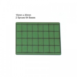 15mm x 20mm Bases
