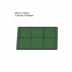 40mm x 40mm Bases