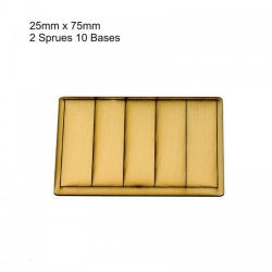 25mm x 75mm Bases