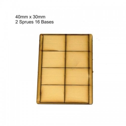 40mm x 30mm Bases