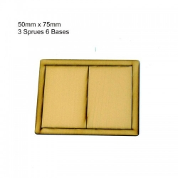 50mm x 75mm Bases