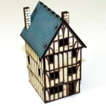 Pre-painted Timber Framed Dwelling