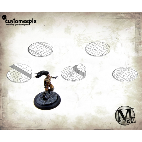 Malifaux Streets Base Tops - 40mm