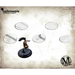 Malifaux Streets Base Tops - 50mm