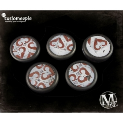 Malifaux Guild Base Tops - 40mm