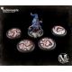 Malifaux Guild Base Tops - 50mm
