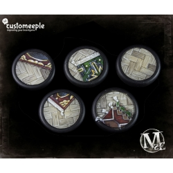 Malifaux Lucius Office Base Tops - 40mm