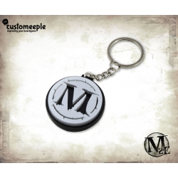 Malifaux Faction Key-ring - Malifaux Silver
