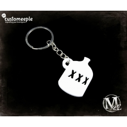 Malifaux Gremlin bottle Key-ring