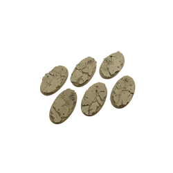 Ruins Bases, Oval 60mm