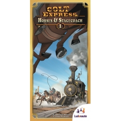 Colt Express Horses & Stagecoaches